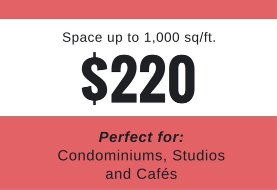 Up to 1,000 Sq/ft - This package is for clients with smaller spaces to showcase, up to 1,000 sq/ft. It is perfect to capture immersive 3D walkthrough experiences for condominiums, apartments, studios, and cafés.