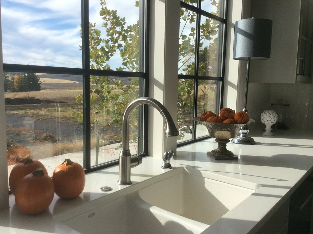 The beautiful Palouse view that Valerie enjoys everyday!