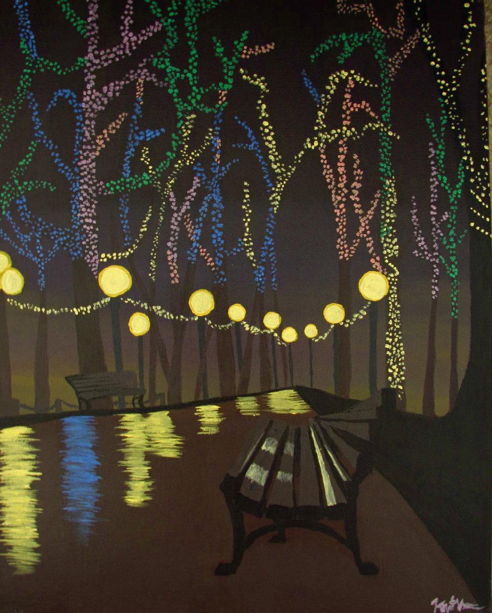 Acrylic on canvas, 2010.