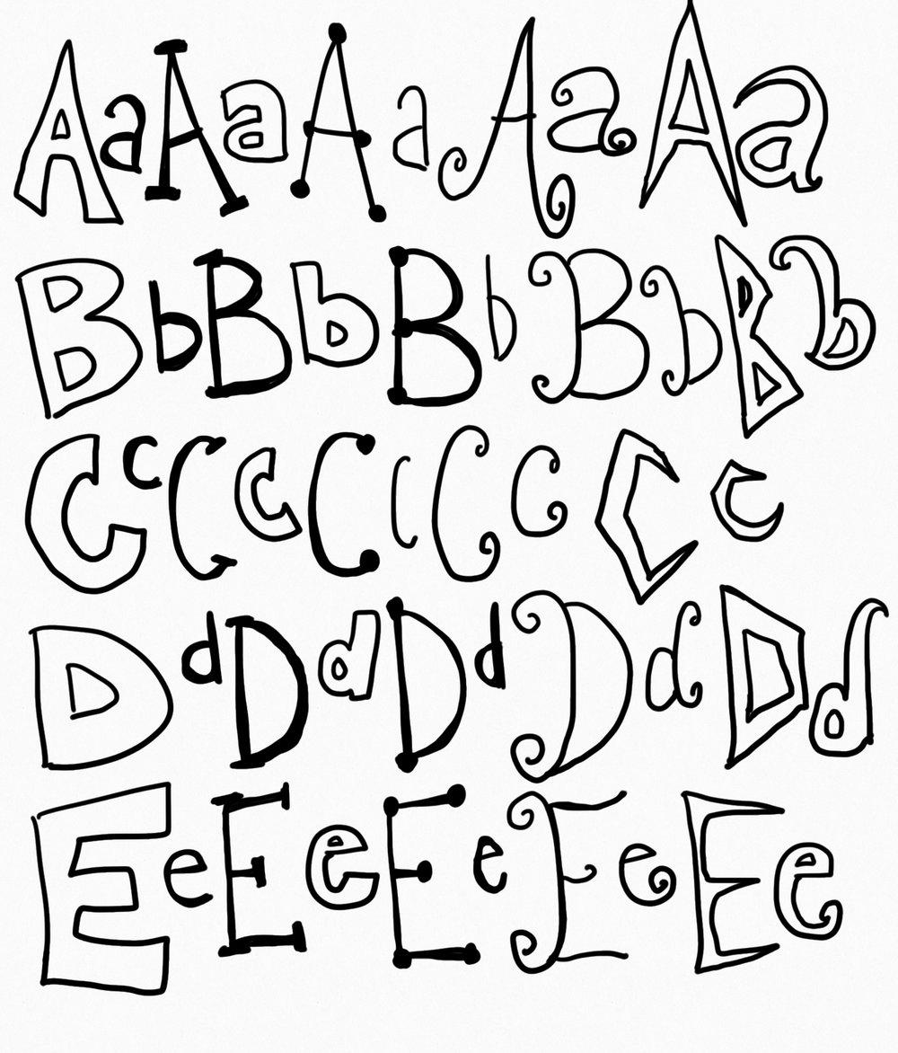 Fonts, digital ink