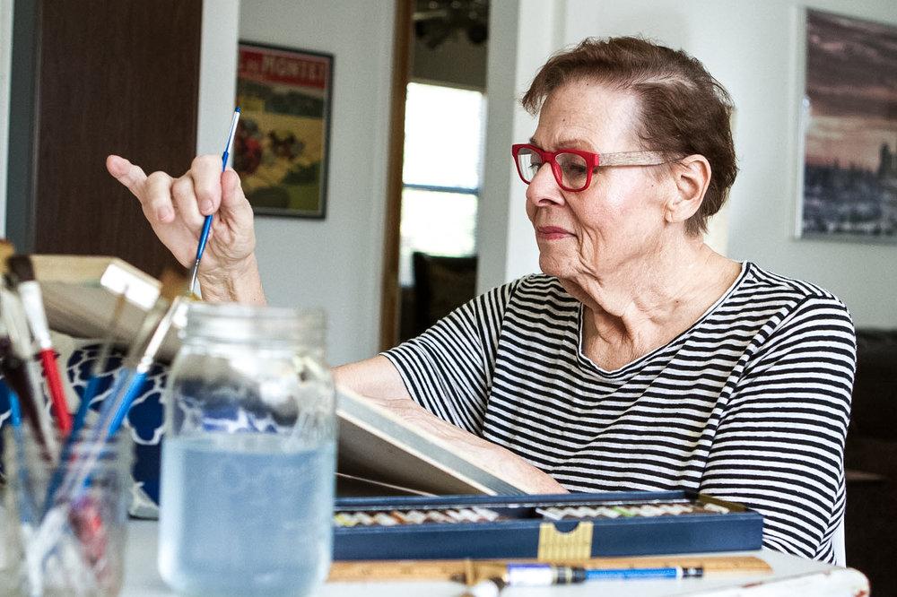 Kathleen Kuleto Spelman, in-house artist