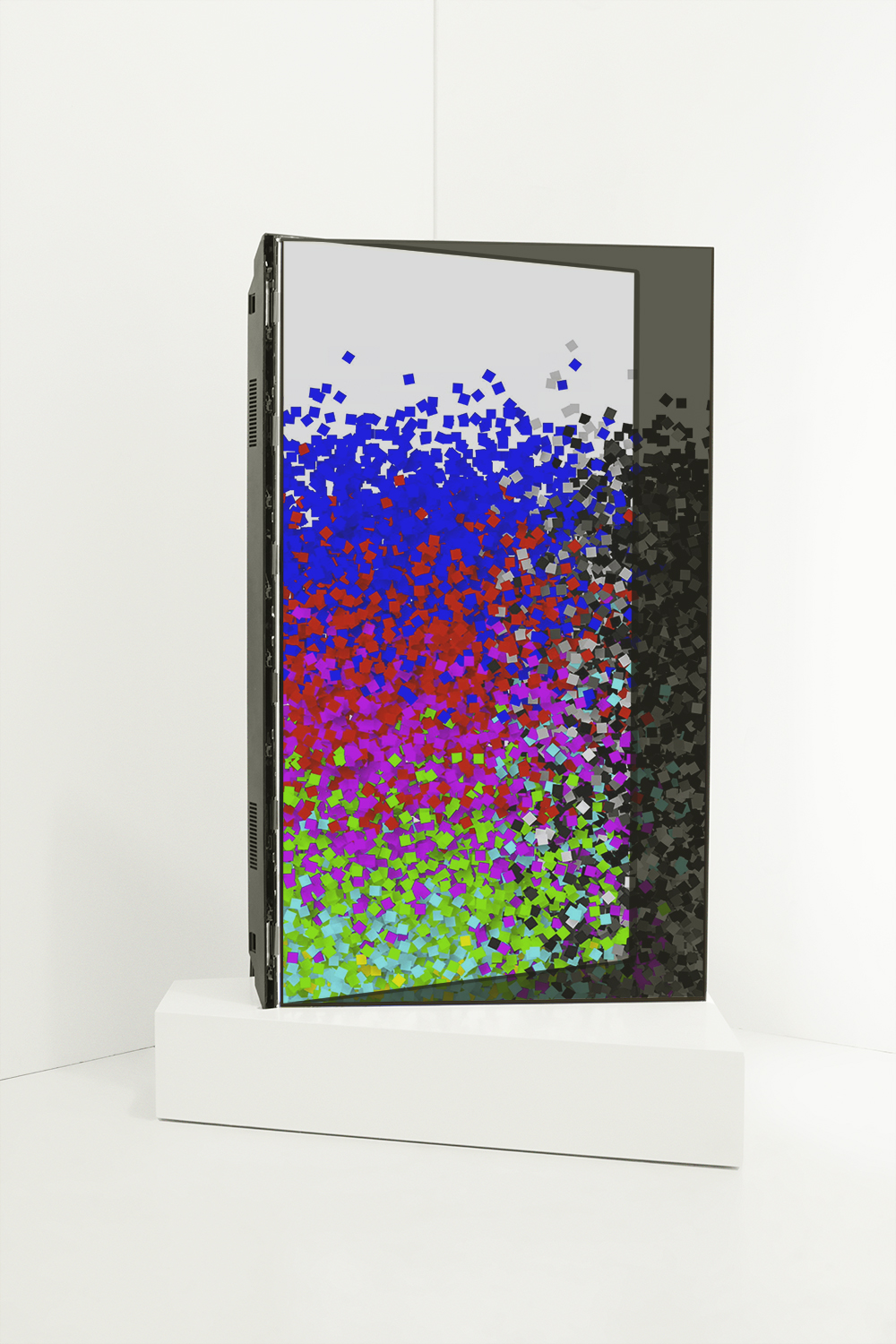 Color Bars, 2016 (installing view)