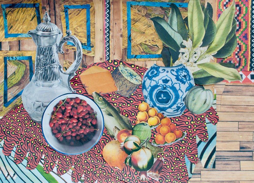 Trung - Still Life after Henri Matisse's Still Life (Pineapples, Lemons).jpg