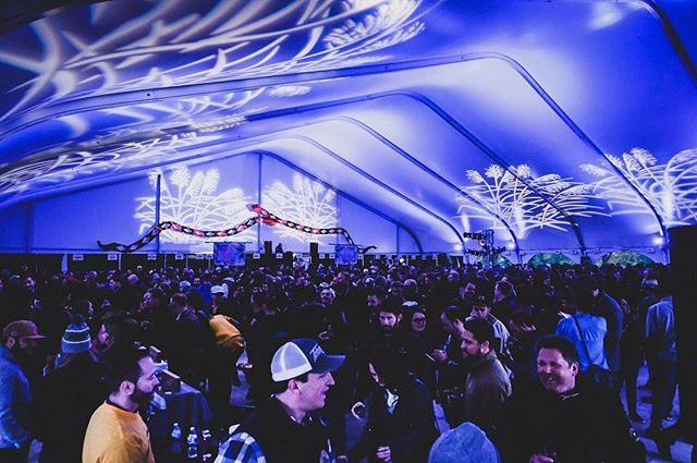We're still buzzing from a weekend spent filming @halfacrebeer's Far & Away Festival.  Killer vibes. Incredible people. . . . #photos #photography #beer #craftbeer #beertography #pointfive #creative #halfacre #halfacrebrewing #festival