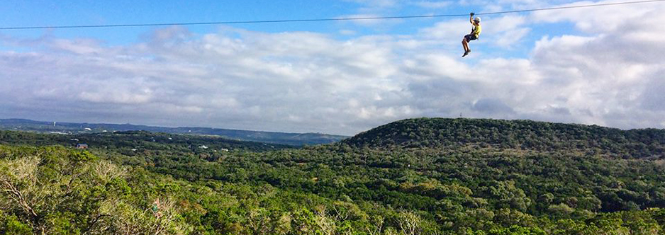 See some of Wimberley's best views from above.  Wimberley ZipLine has been featured in Texas monthly as well as other publications, as a highly-rated hill country activity. It's open year round and a great activity for groups to do together (age min 9 years old.)