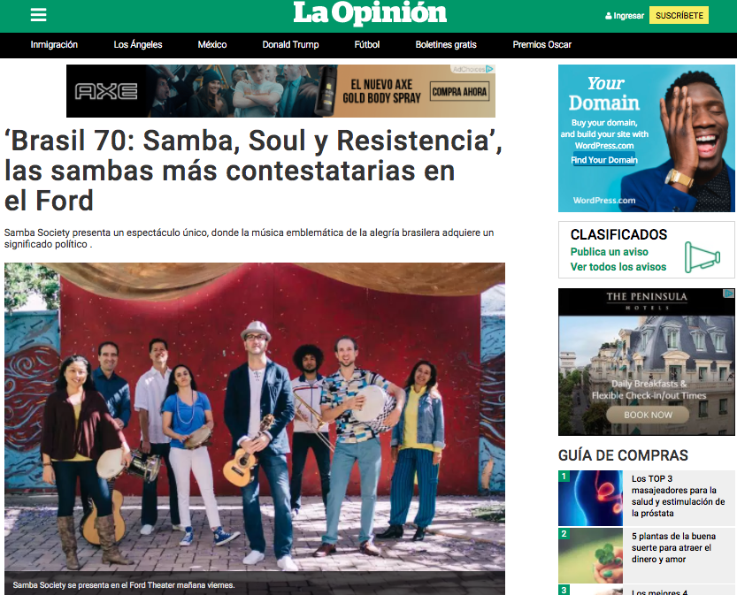 samba society ford