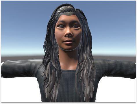 Imported the avatar created in Daz Studio and rigged the avatar in Unity. The customized avatar works for both a single player scene and a networked scene.