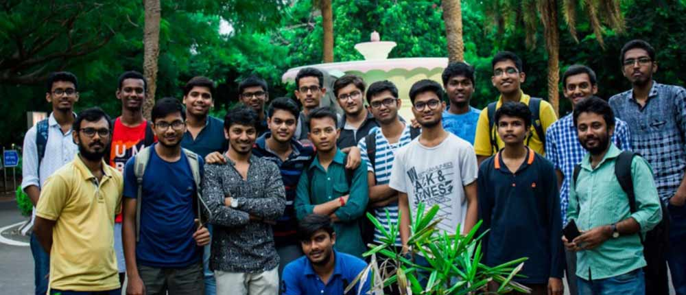 Hybrid Bevel Bicycle  Team from IIT Madras