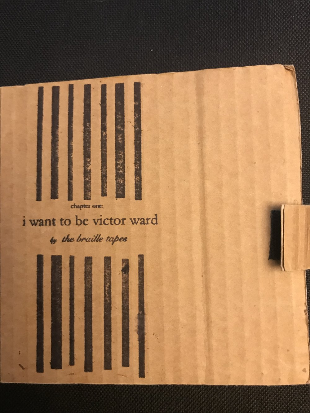 CHAPTER ONE:I WANT TO BE VICTOR WARD - (KEATON COLLECTIVE, 2006)LISTEN:
