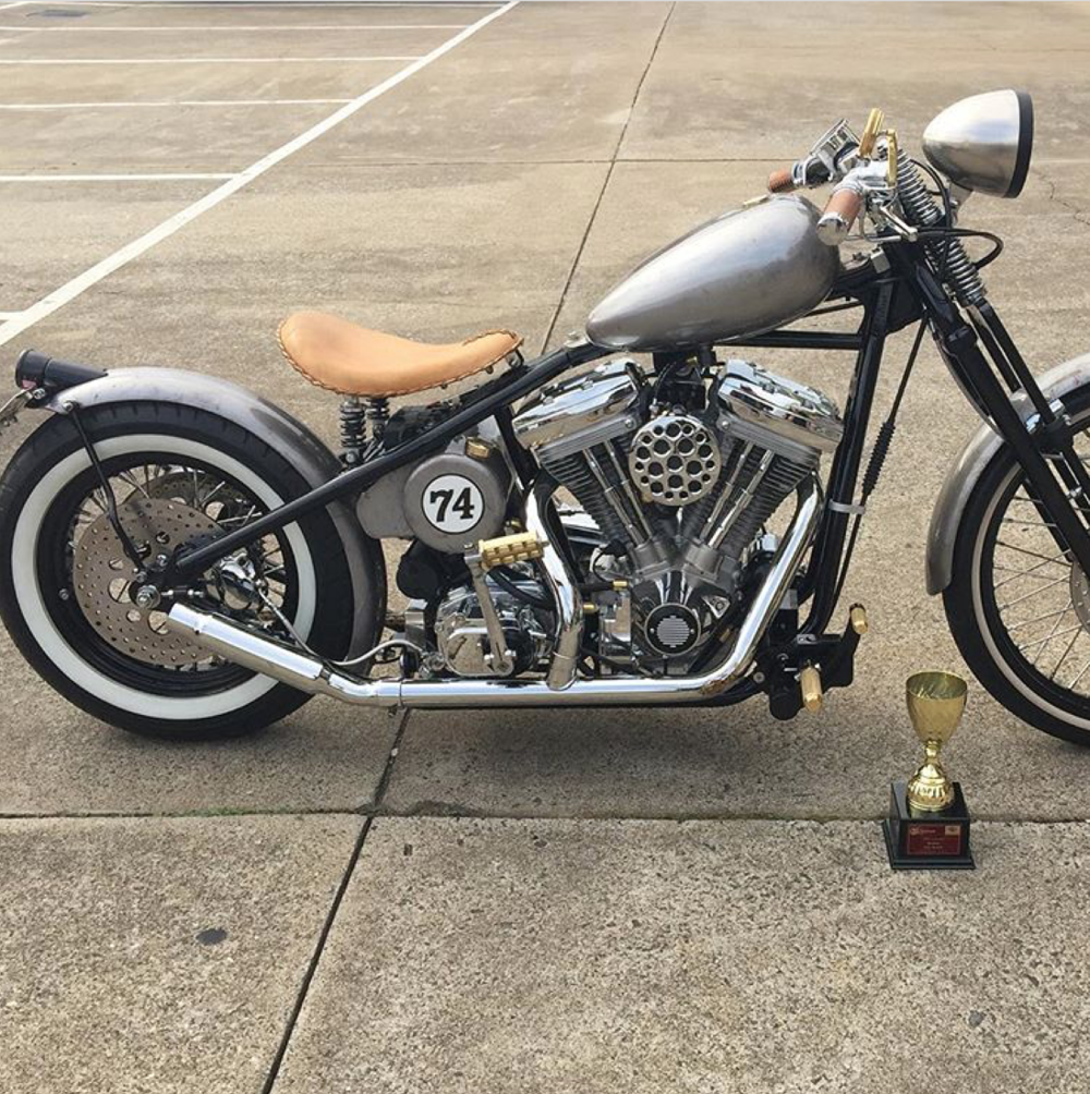 1962 Rigid Harley Bobber