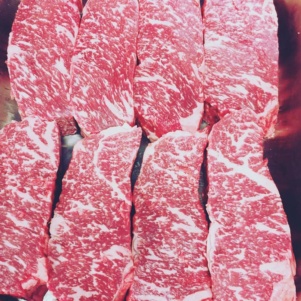 Grain fed black angus porterhouse