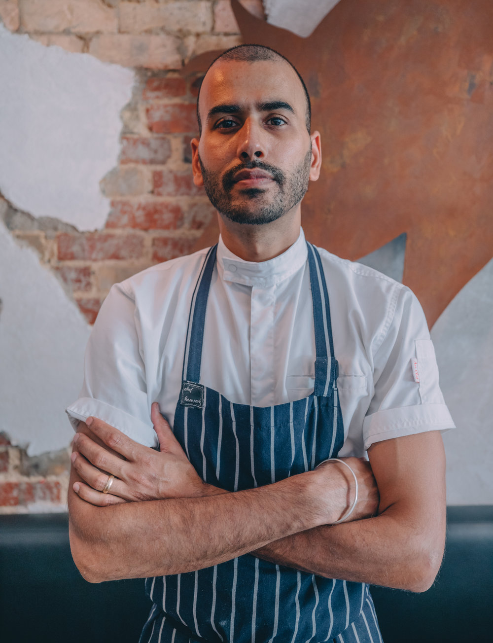 Head Chef and owner David Lakhi