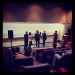 CLUSTER performs at Emmanuel College, Boston