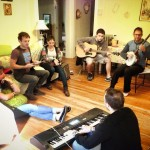 One of many CLUSTER - Fermata Town jam sessions at The Vern