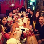 CLUSTER and Fermata Town dine at the Barking Crab