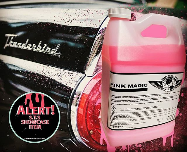 ❗SHOWCASE ITEM❗ ✨Pink Magic✨🔮 A mix of Carnauba, Teflon and Synthetic elements provide the ultimate protection with the easiest of use. Provides that extra UV🔅 and oxidation protection. End date for Showcase item will be may 17th! Check highlight for details! #cars #detailing #sanbernardino #garage #rags #protection #leather #meguiars #mirrorshine #professional #carwash #carshow #cutting #csbrite #cardetailing #supplies #cleanride #detailingworld #qualitycleaning #inlandempire #waxing #buffing #polish #tire #leather #dressing #degreaser #detailersofinstagram #carwash #metal #pink