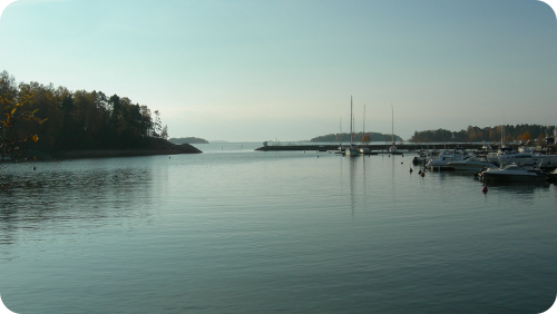 Suunnittelualueelta avautuva merinäköala.