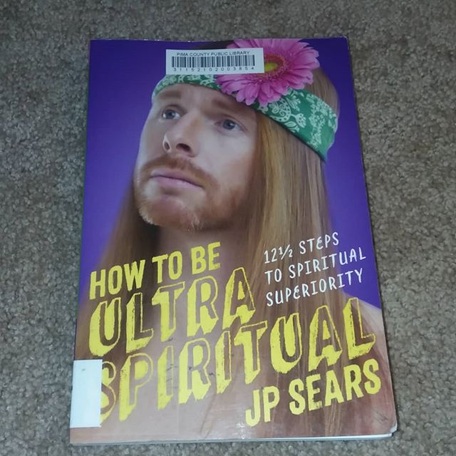 Starting a #newbook tonight, in hopes that maybe it will be at least somewhat #enlightening. 🙏🏻🧘🏼‍♀️💡🍃 #jpsears #spiritualaf #ultraspiritual #wordsofwisdom  #windingdown
