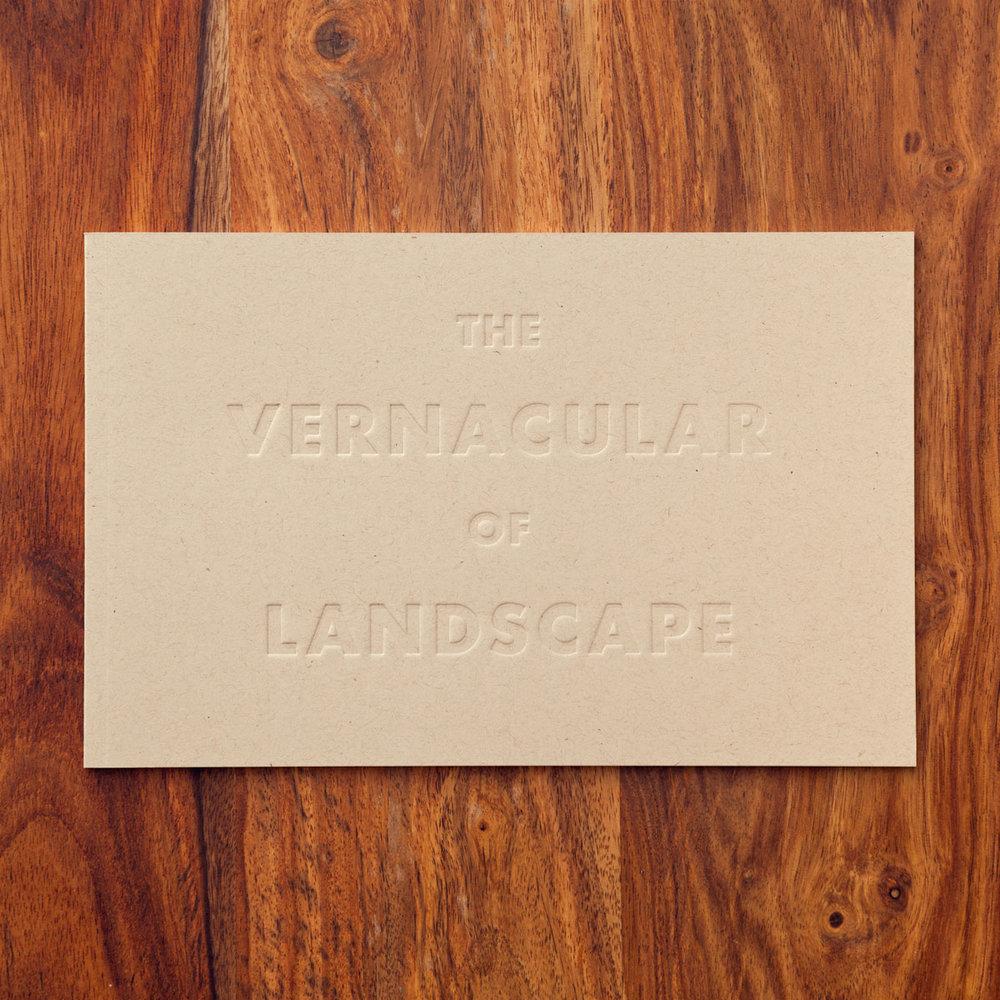 The Vernacular of Landscape