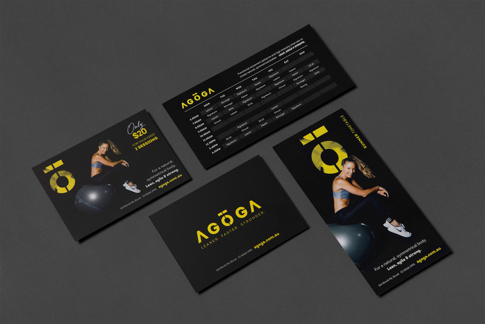Agoga - Graphic Design by Neverland Studio