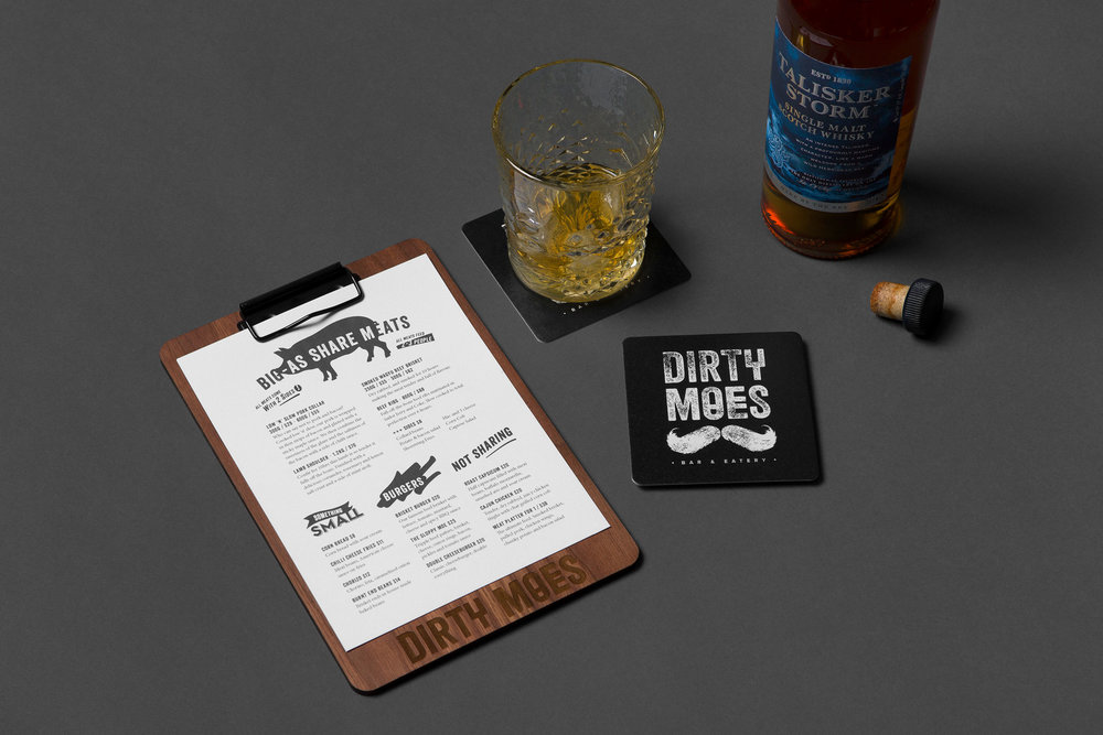 Dirty Moes - Graphic Design by Neverland Studio
