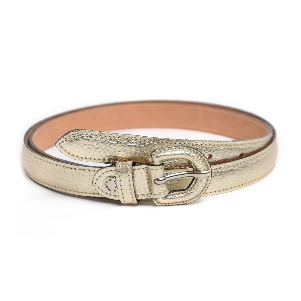 Narrow Belt in Gold