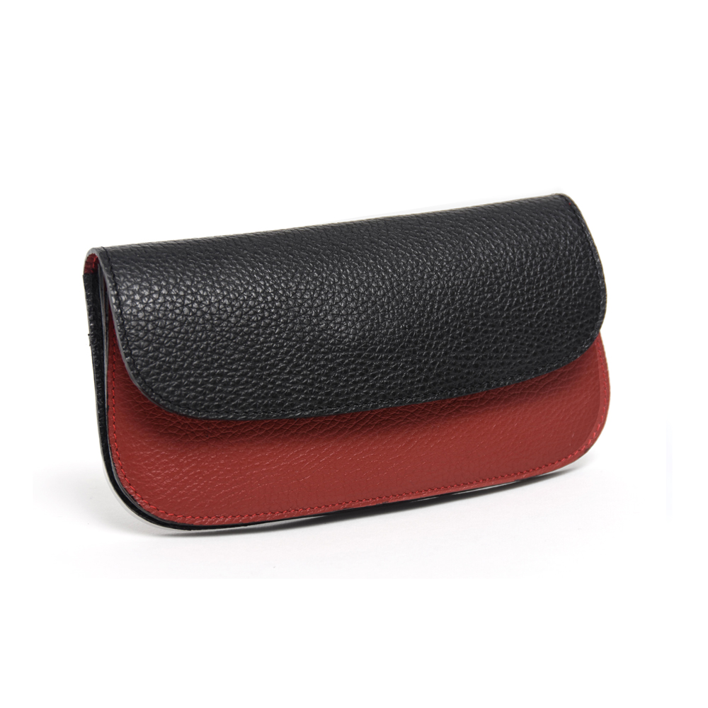 Purse in Red & Black