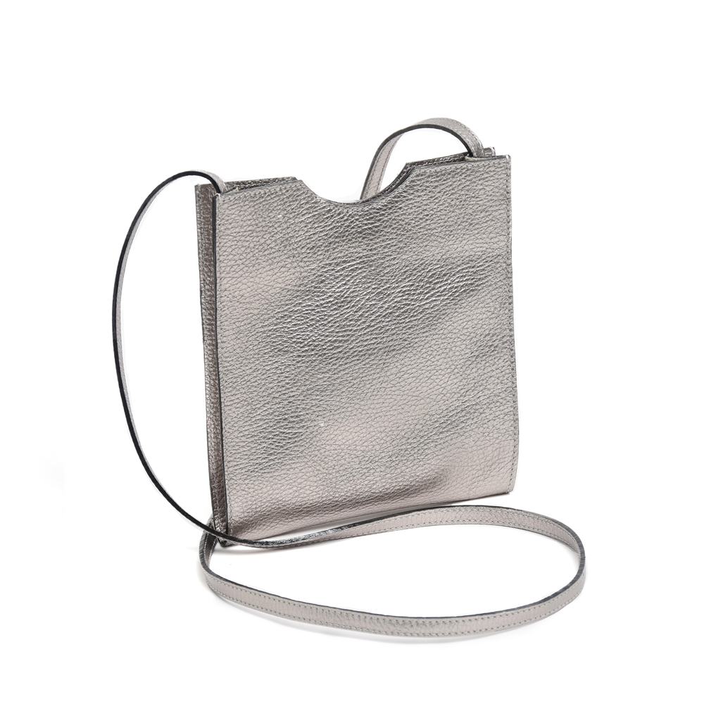 Small Cross Body Bag in Mercury