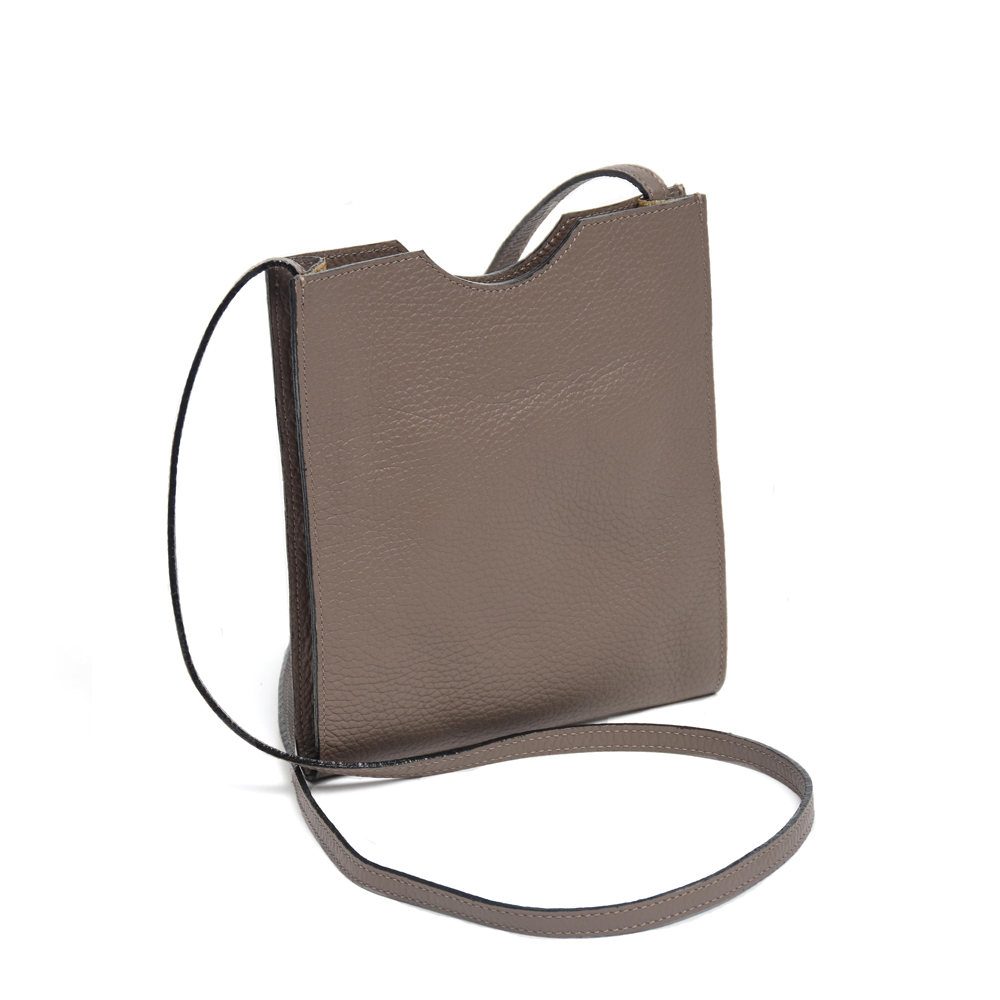 Small Cross Body Bag in Taupe