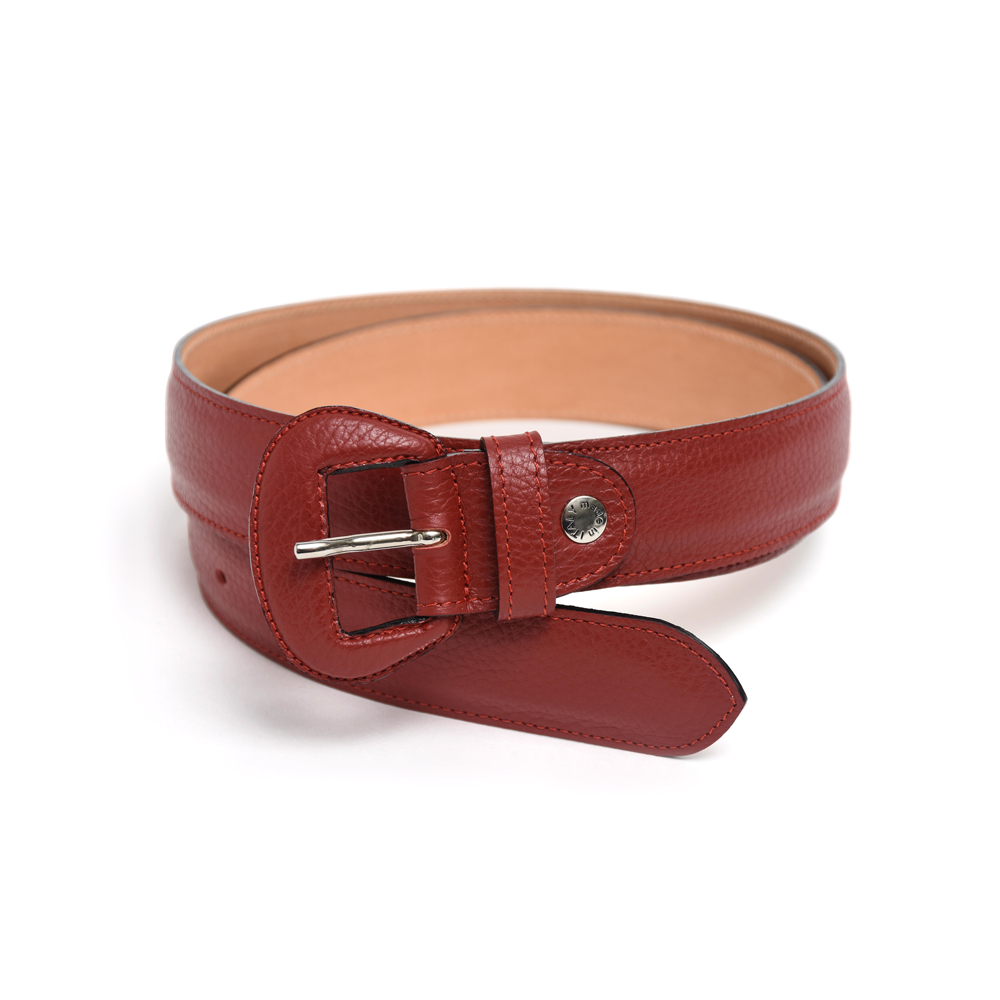 Wide Belt in Red