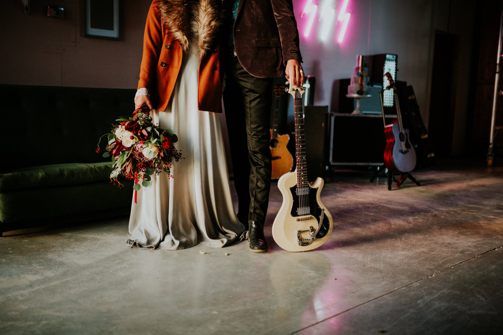 Almost Famous styled shoot at the Giraffe Shed Wales state of love and trust wedding photography by Al Wilkinson