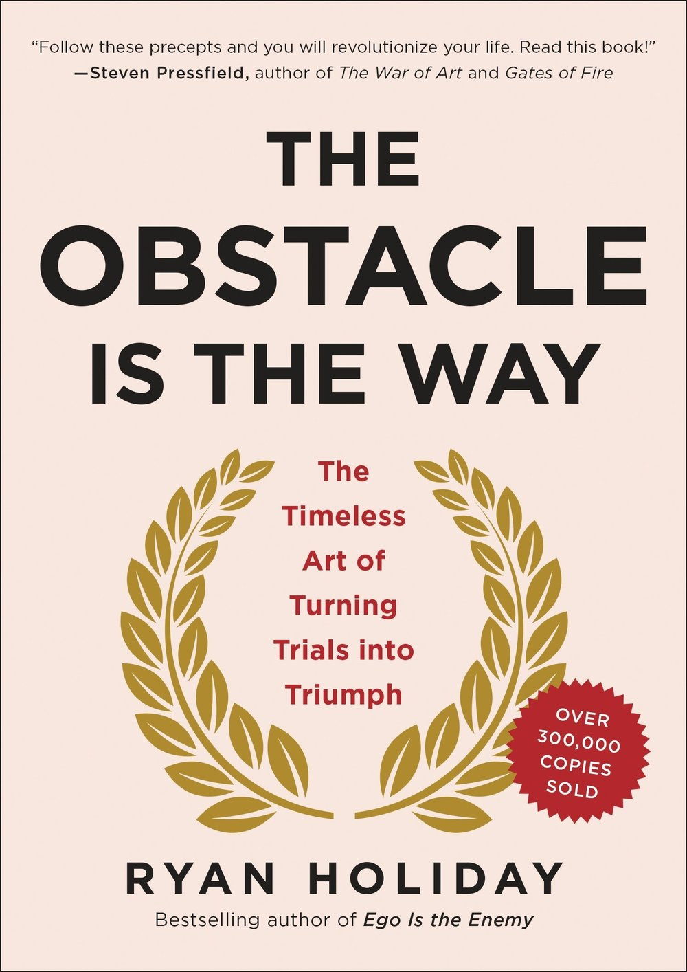 The Obstacle is the Way -