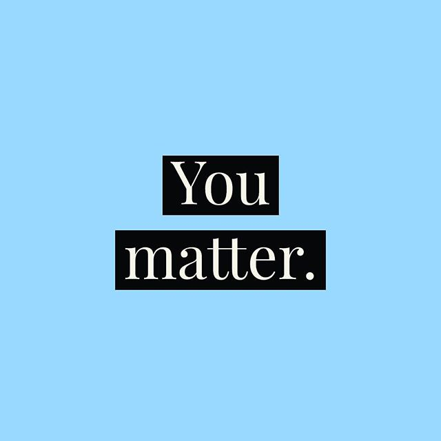 We're here to remind you that YOU matter. You have value simply by being here. You don't need to derive your value from a job or a relationship or anything else . . . You are your first and best friend. You matter. Remember that. . . . #mentalhealth #mentalhealthmatters #youmatter #mentallyhealthy #mentalhealthrecovery #mentalillnessrecovery #mentalhealthishealth #mentalhealthquotes #mentalhealthissues #anxietyrecovery #depressionawareness #depressionrecovery #ocdrecovery #soberlife #inspirationalthoughts #inspoquote #inspirationalquote #mentalhealthmemes #mentalhealthawareness #depressionawareness #youcomefirst #putyourselffirst #selflove #selfcare #selfcarematters