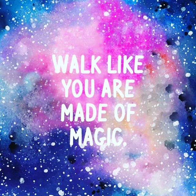 You know what? You're amazing. You're incredible. You're a one-of-a-kind human being. Don't believe it yet? We don't care. We'll believe it for you. . And when you get out there and walk through this world, we hope you'll walk like you are magic. Because you ARE. . Thanks to @wholistic11011 for the great image. . #youarewhatyouthink #youaregreat #youaremagic #youaremagical #beyourbestyou #beyourbestself #beyourself #thursdayquotes #thursdaymotivation #motivationquotes #motivationalquote #selfloveisthebestlove #selfconfidence #selfesteemboost #selfesteemquotes