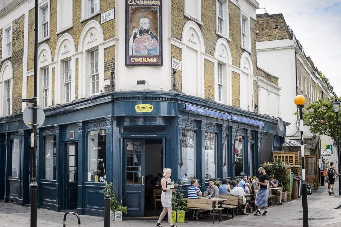 The Duke of Cambridge, 30 st. peter's street, London. N1 8JT