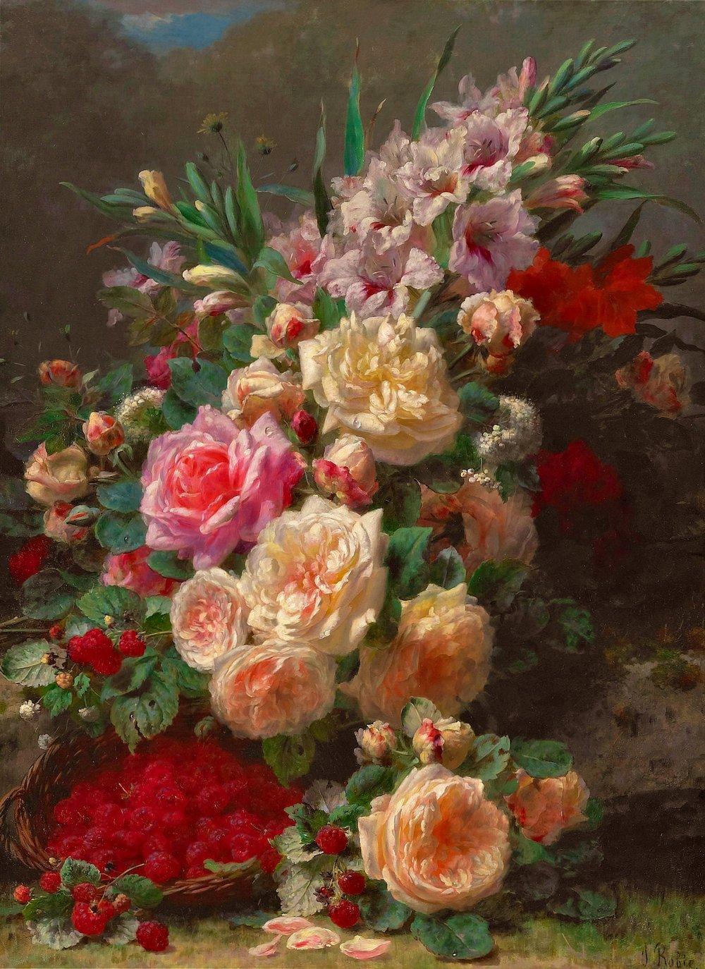 Vintage Calendar Florals