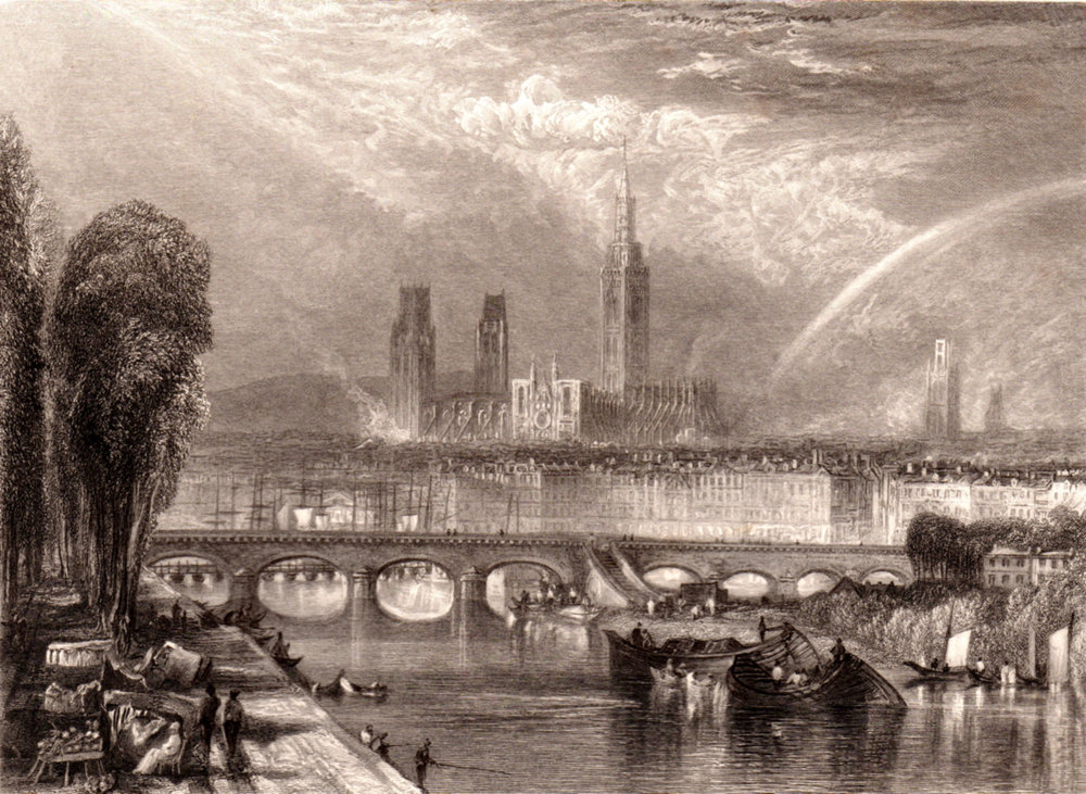 Turner, J.M.W. / Rivers of France; the Loire