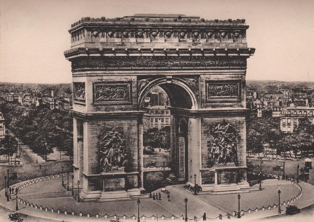 Paris & Versailles gravures, ca. 1900