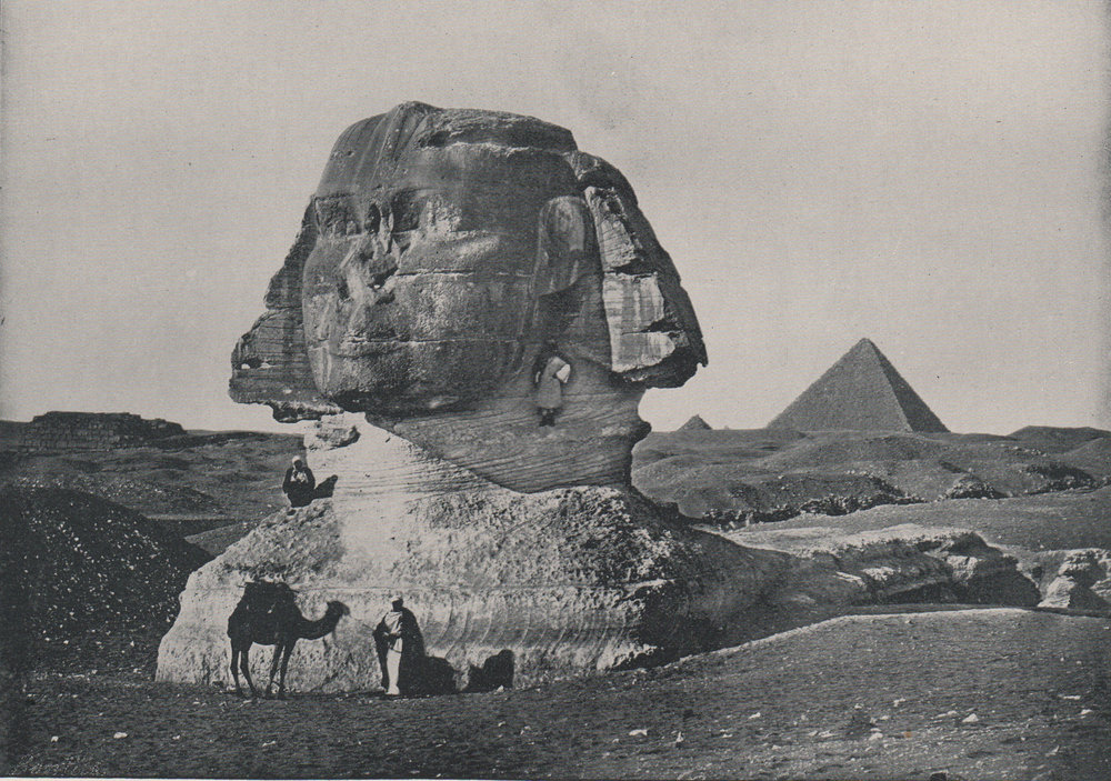 Antique photo-engravings of Egypt