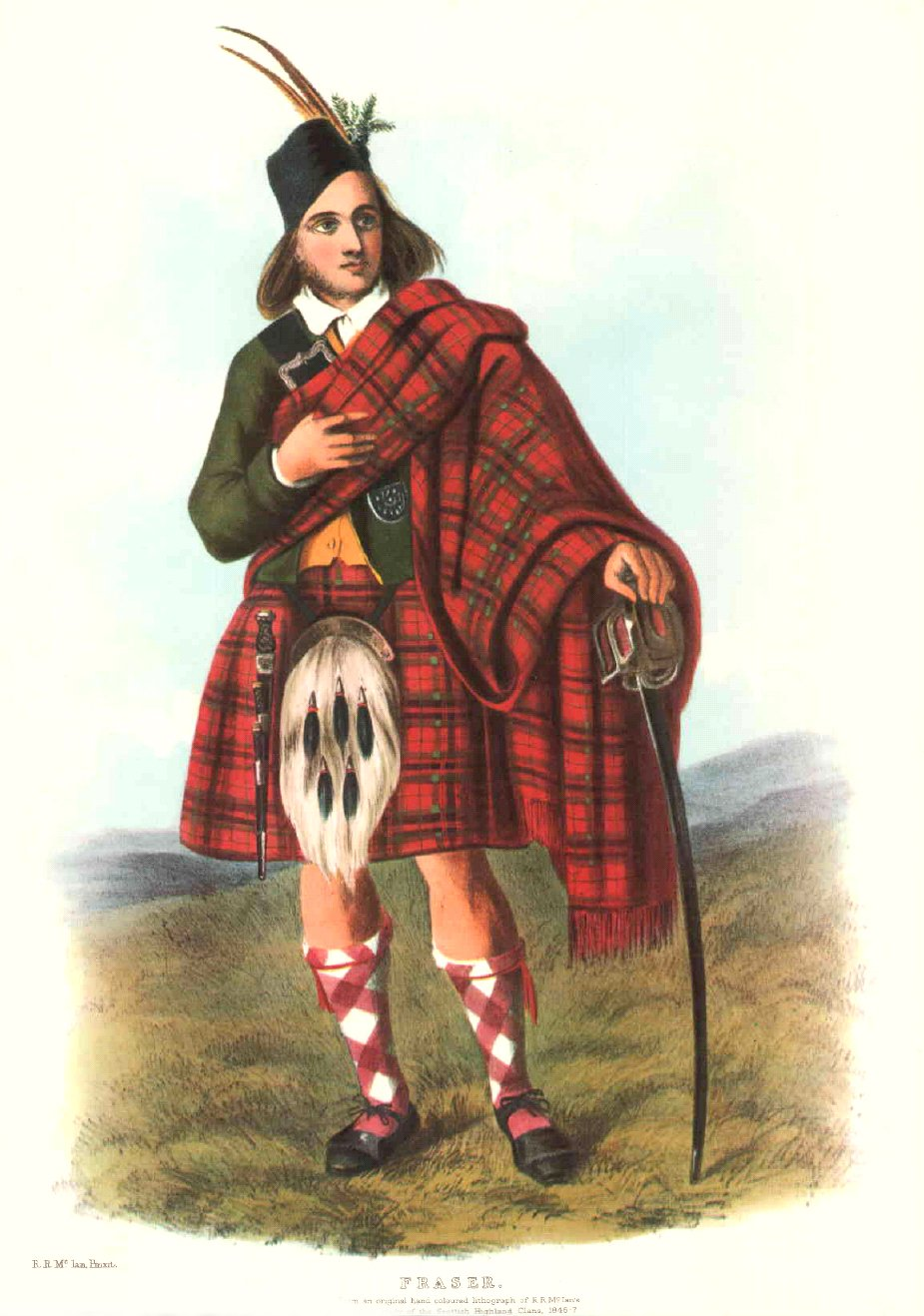 McIan's Costumes of the Clans of Scotland