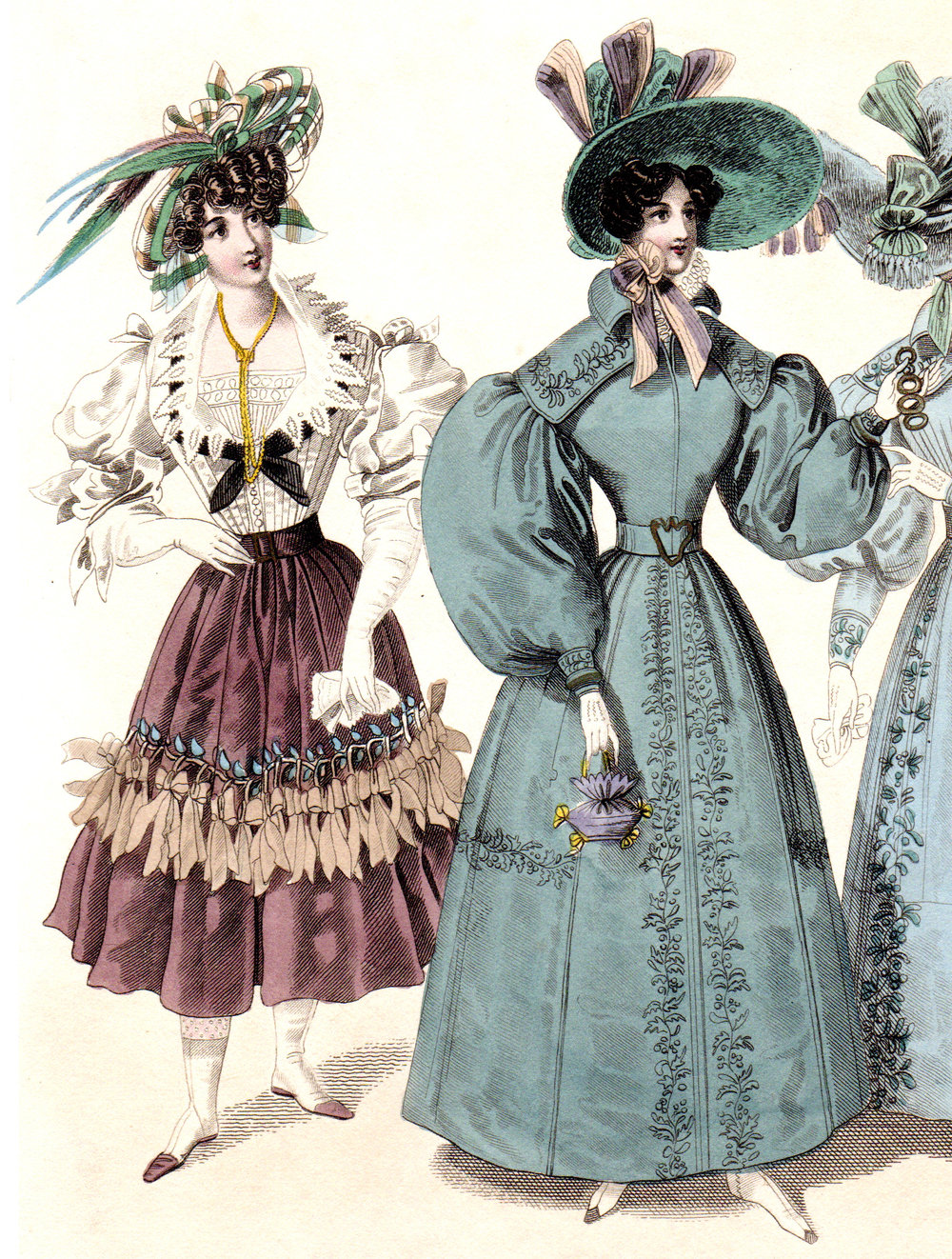 Paris Fashions 1820s-1860s