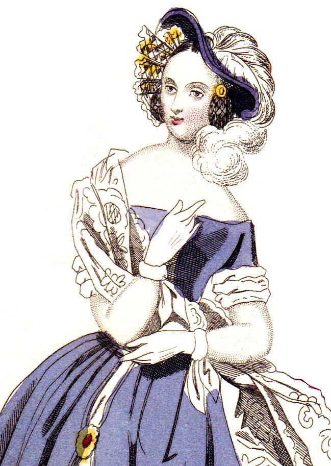 Women's Fashions 1840s-1850s