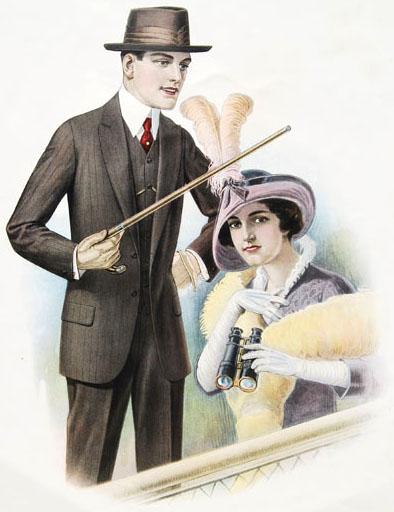 Fashion for Men, 1914