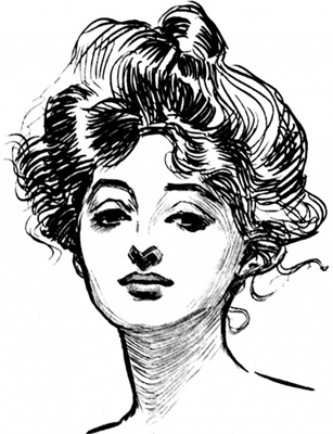 Drawings of Charles Dana Gibsonhttp://www.darvillsrareprints.com/Charles%20Dana%20Gibson%20antique%20prints%20of%20Gibson%20Girls.htm