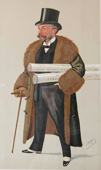 Mr. Richard D'Oyly Carte February 14, 1891 (THEATRE)