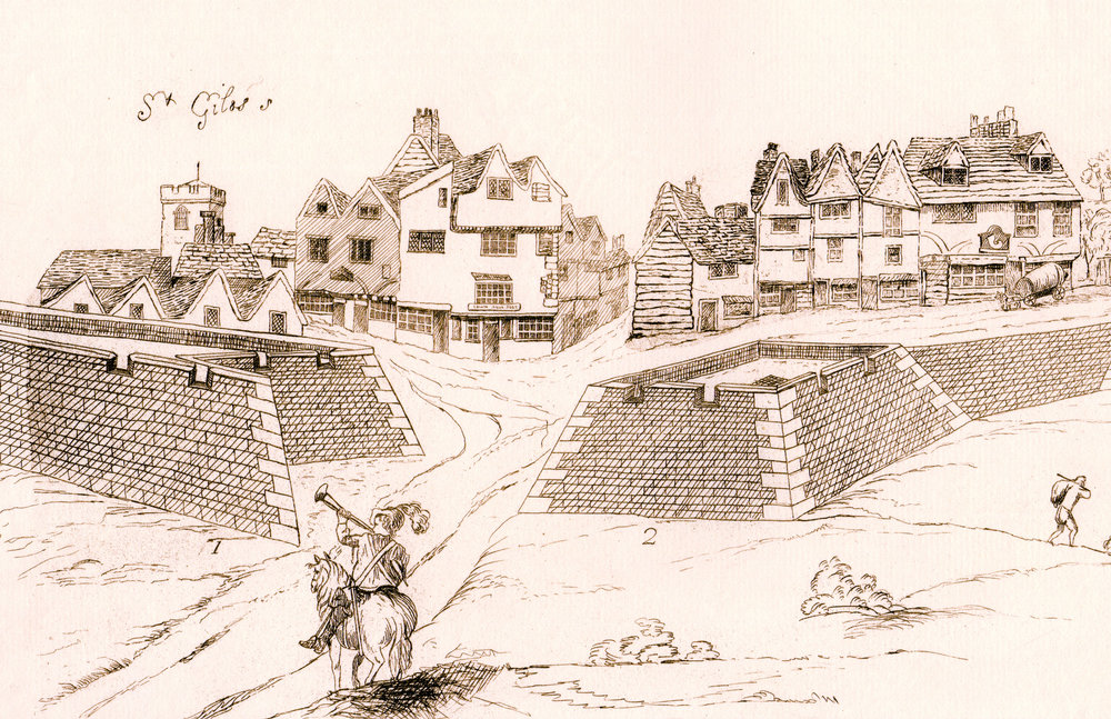 Eyre's Fortifications of London, 1643 (1852)