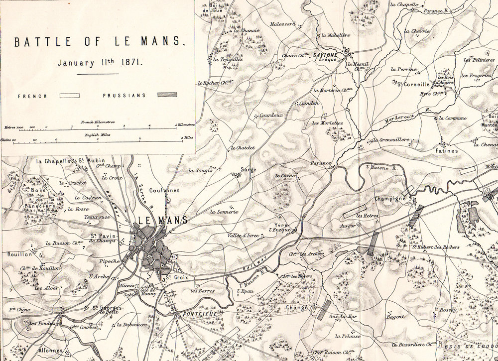 The Franco-Prussian War battle maps