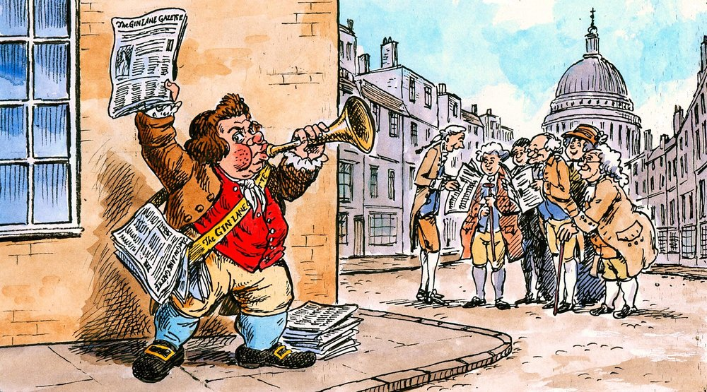 Miscellaneous 18th and 19th century cartoons
