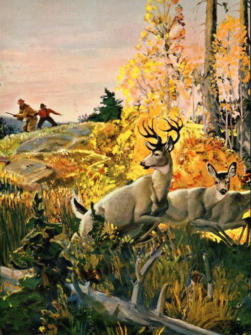 Vintage Hunting Calendar/Poster Prints from the 1910s–1940s