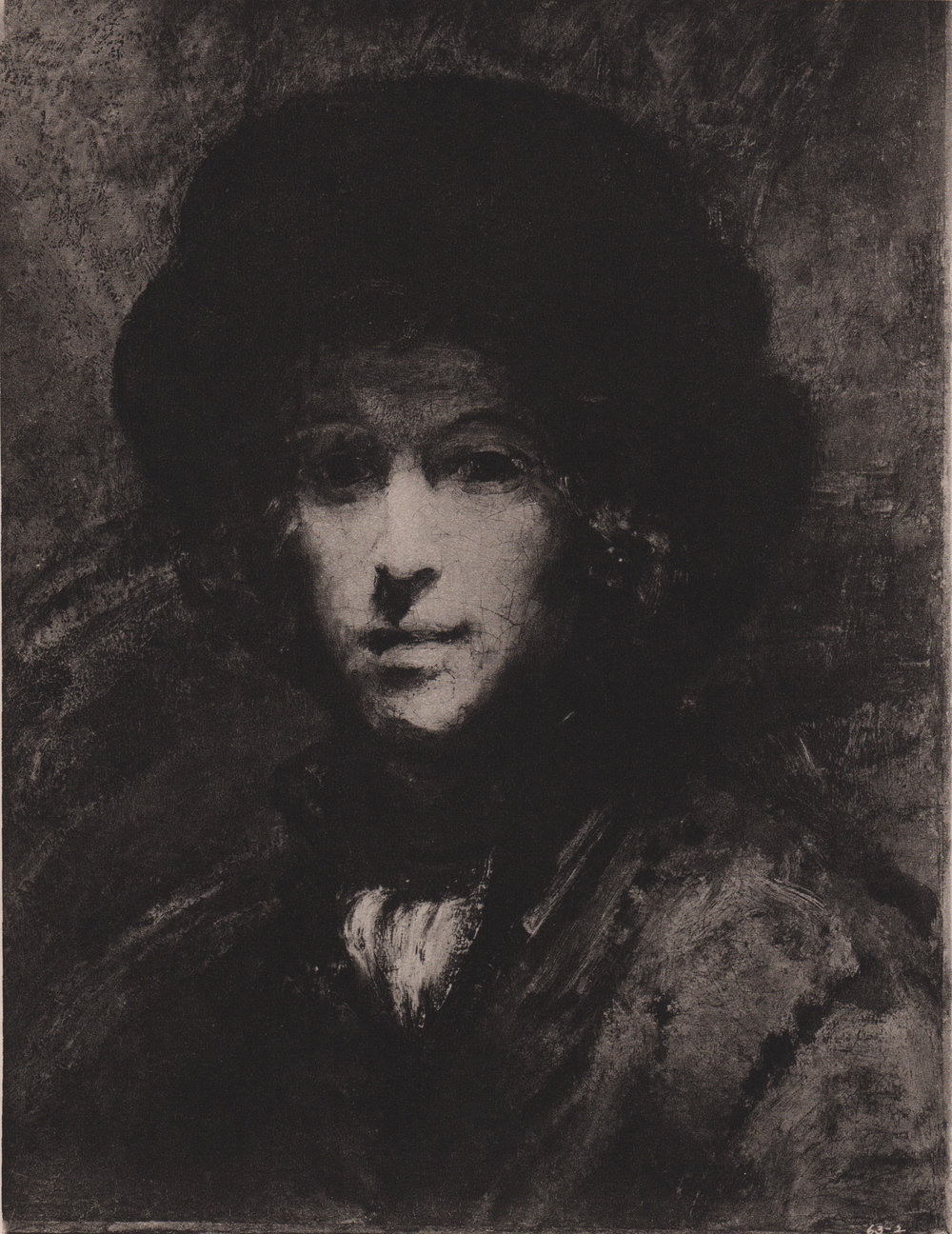 Rembrandt prints (unidentified source, circa 1890-1900)